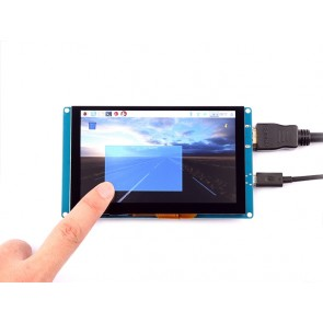 5 Inch Capacitive Touch Screen 800x480 HDMI Monitor TFT LCD Display für Raspberry Pi