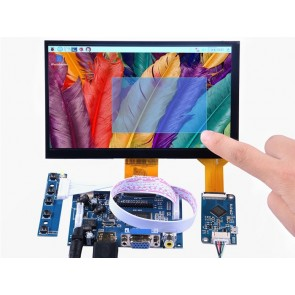 7 Inch 1024x600 Capacitive Touch Screen DIY Kit
