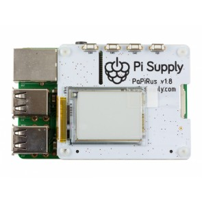 Raspberry Pi PaPiRus HAT Small  (1.44 Zoll) - ePaper Display