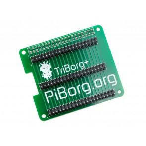 TriBorg Plus - Raspberry Pi GPIO Triplicator (40 Pin), Unsoldered