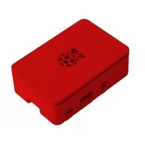 ABS Mini PC Gehäuse, rot für Raspberry Pi 2 und Pi 3 B/B+