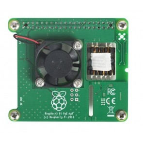 Power over Ethernet (PoE) HAT for Raspberry Pi 3 Model B+ (v2.0)
