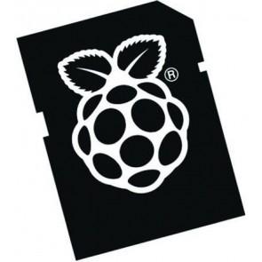 16-GB-MicroSD-Karte (Class10) - NOOBS für Raspberry Pi bereits installiert (mit SD-Kartenadapter)