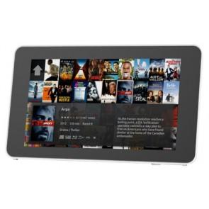 Gehäuse für Original 7 Zoll Raspberry Pi-Touchscreen (weiss)