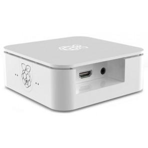 Mini-PC Gehäuse weiss - Quattro (für Raspberry mit SSD/HDD)