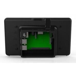 Gehäuse für Original 7 Zoll Raspberry Pi-Touchscreen (schwarz)