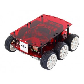 DiddyBorg v2 Robot Kit - Red Edition
