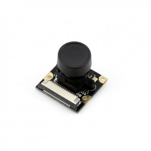 Raspberry Pi Camera (H), Fisheye Lens, Supports Night Vision
