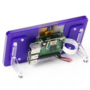 "Raspberry Pi 7"" Touchscreen Display Frame - Royale (Blau)"