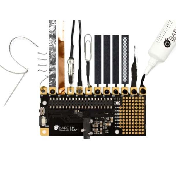 Bare Conductive Raspberry Pi Cap
