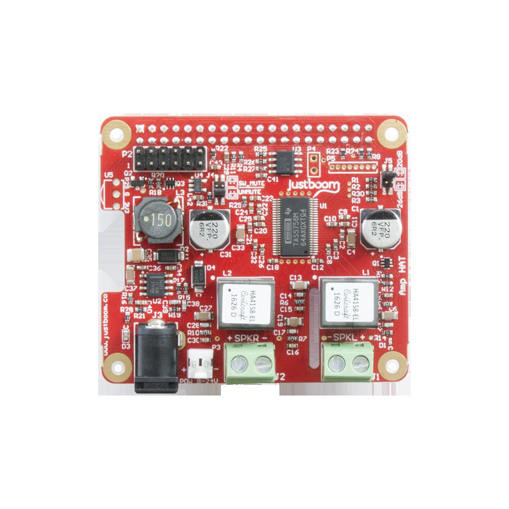 Neue Audio Boards von JustBoom (DAC, DIGI und AMP) für den Raspberry Pi
