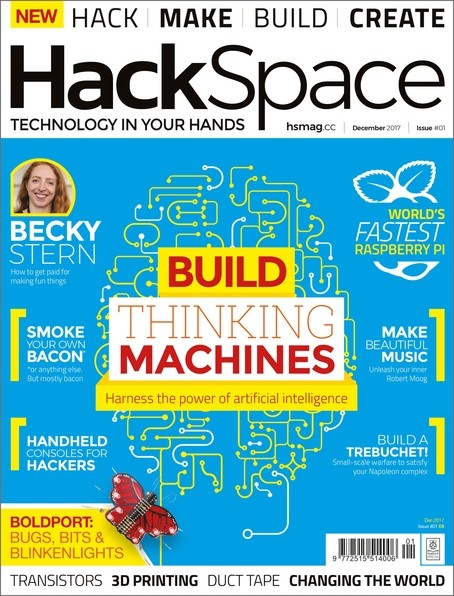 HackSpace Issue 1 - Neues Magazin für Maker