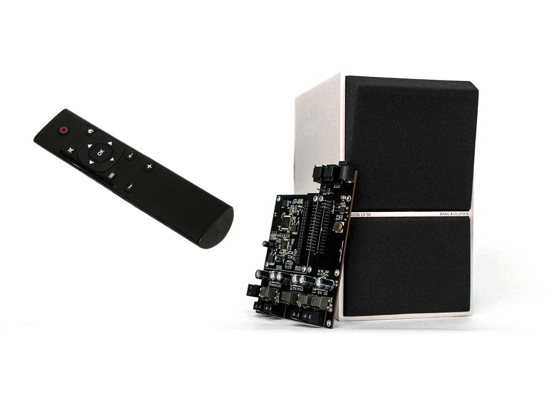 Funkfernbedienung (radio remote) mit Volumio, RuneAudio, Moode Audio, PiMusicBox, etc.