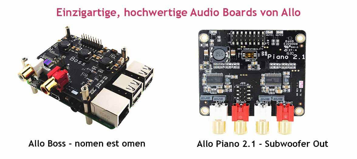 Allo Audio Boards